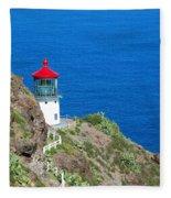 Makapu'u Lighthouse Fleece Blanket