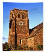 Maui Hawaii Makawao Union Church II Fleece Blanket