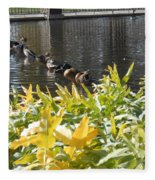 All My Ducks In A Row Fleece Blanket