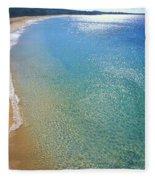 Makena Beach Fleece Blanket
