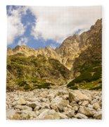 Mala Studena Dolina Fleece Blanket