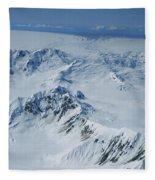 Malaspina Glacier Fleece Blanket