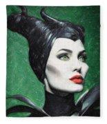 Maleficent Fleece Blanket
