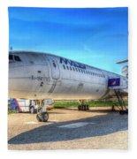 Malev Airlines Tupolev Tu-154 Fleece Blanket