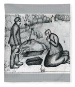 malevich37 Kazimir Malevich Fleece Blanket