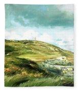 Malin Head Ireland Fleece Blanket