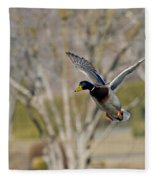 Mallard Approach Fleece Blanket