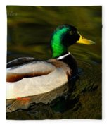 Mallard Green Fleece Blanket