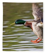 Mallard Landing Fleece Blanket