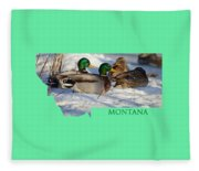 Mallard Montana Fleece Blanket