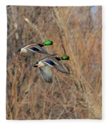 Mallard's In Flight Fleece Blanket