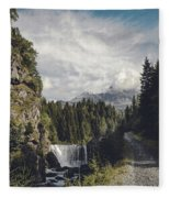 Mallero Mountain Creek - Chiesa In Valmalenco - Lombardia - Italy Fleece Blanket