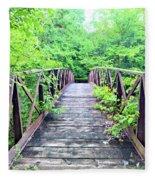 Mallory Bridge Fleece Blanket