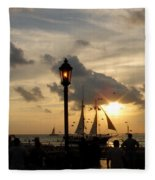 Mallory Square Key West Fleece Blanket