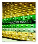Malostranska Fleece Blanket