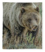 Mama Grizzly Blondie Fleece Blanket
