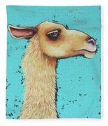 Mama Llama Fleece Blanket