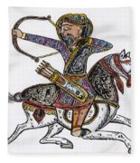 Mameluke Archer, C1300 Fleece Blanket