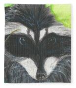 Mamma Raccoon  Fleece Blanket