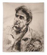 Man 5 Fleece Blanket
