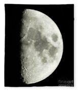Man In The Moon Fleece Blanket