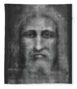 Man Of The Shroud 3 Fleece Blanket