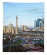 Manama Bahrain Fleece Blanket