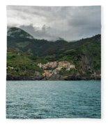 Manarola, Cinque Terre Fleece Blanket
