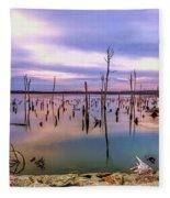 Manasquan Sunrise Fleece Blanket