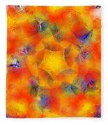 Mandala 3 Fleece Blanket