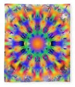 Mandala 4 Fleece Blanket