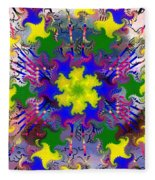 Mandala 6 Fleece Blanket