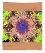 Mandala 9 Fleece Blanket