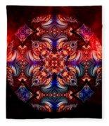 Mandala Magic Fleece Blanket