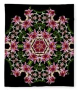 Mandala Monadala  Lisa Fleece Blanket