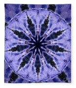 Mandala Ocean Wave Fleece Blanket