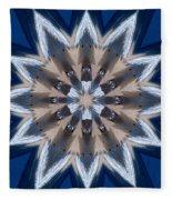Mandala Sea Star Fleece Blanket