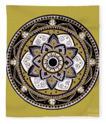 Diva Mandala Fleece Blanket