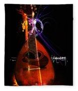 Mandolin Fleece Blanket