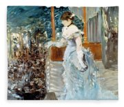 Manet: Cafe-concert, 1879 Fleece Blanket