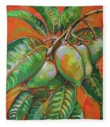 Mango Fleece Blanket