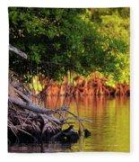 Mangroves Of Roatan Fleece Blanket