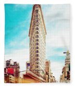 Manhattan 11 Fleece Blanket