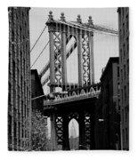 Manhattan Empire Fleece Blanket