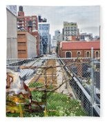 Manhattan High Line Fleece Blanket