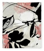 Manifesto Coral Fleece Blanket
