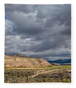Manila Ranchland Fleece Blanket