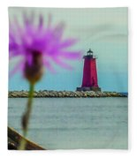 Manistique Fleece Blanket
