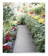 Manito Park Conservatory Fleece Blanket