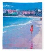 Manly Beach Fleece Blanket